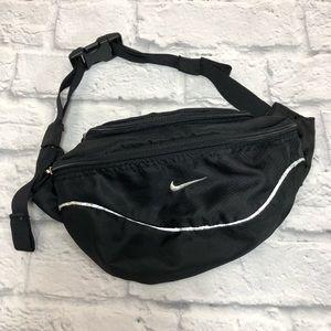 Nike Black waist hip bag. Adjustable *
